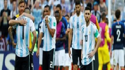 فرنسا تطيح بالارجنتين خارج المونديال في طريقها لربع النهائي