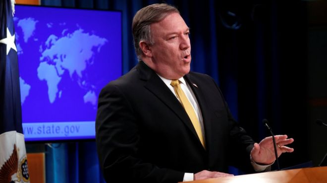وزير خارجية بايدن لم يذكر العراق !!!!!!