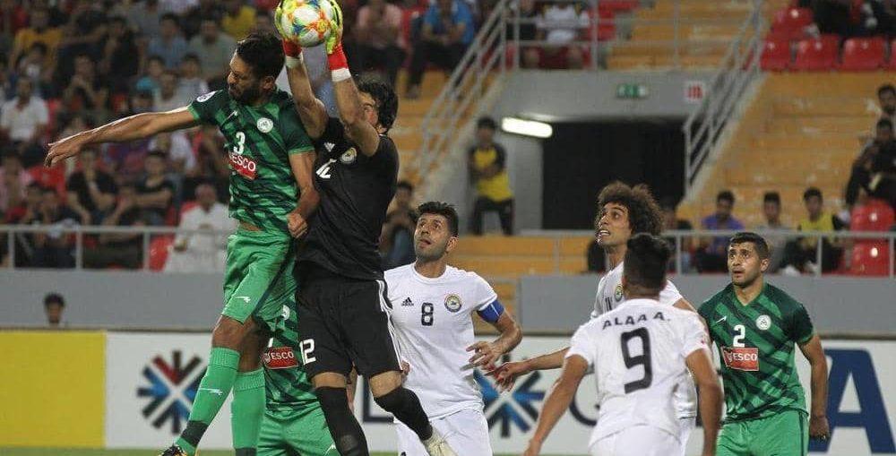 لاعب ايراني:ملعب كربلاء بني باموال الشعب الايراني