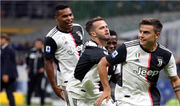 يوفنتوس يوقف أنتصارات أنتر ميلان في الدوري الايطالي