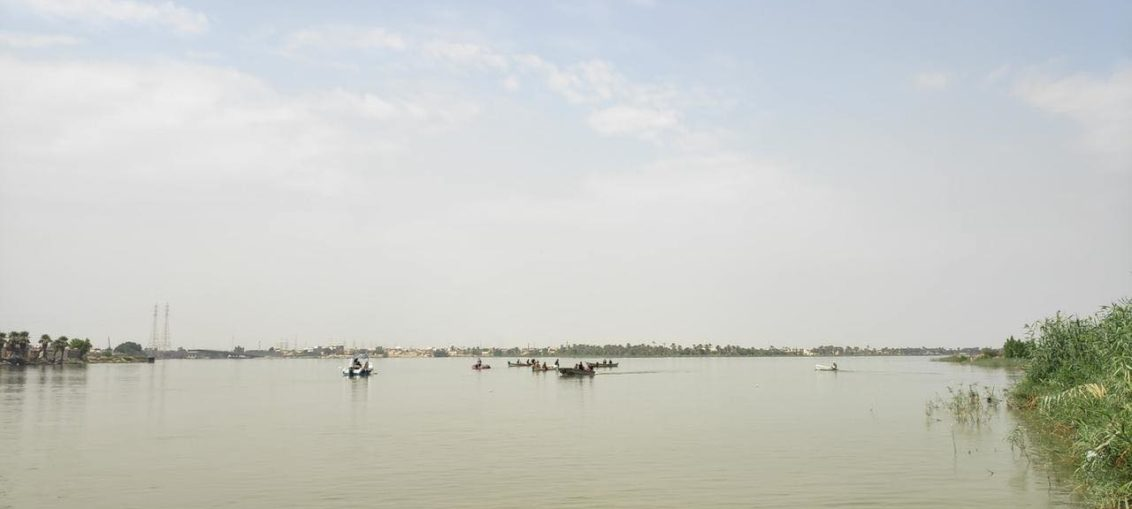 غرق زورق يحمل 27 عراقياً و إيرانياً في #البصرة ب #العراق ومصرع 3 إيرانيين