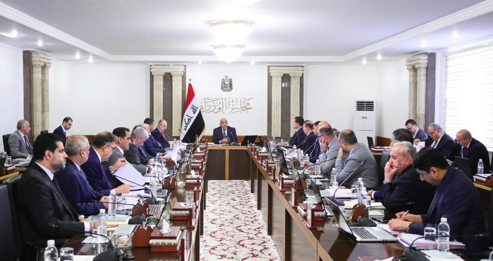 بسبب الهدنة!عادل عبد المهدي يعقد إجتماع مجلس الوزراء الى مقرع في علاوي الحلة!!
