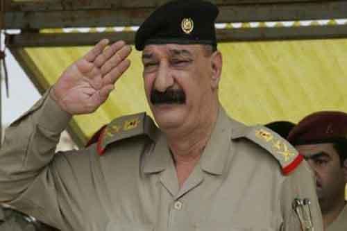 الفريق الركن عبد الأمير الزيدي حاكما عسكريا لمحافظة واسط