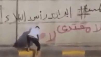 صورة الشيخ خميس الخنجر:الطائفي يدعو لمحاربة الطائفية! ومن فشل في موقعه الدستوري يدعو الحكومة للاستقالة!