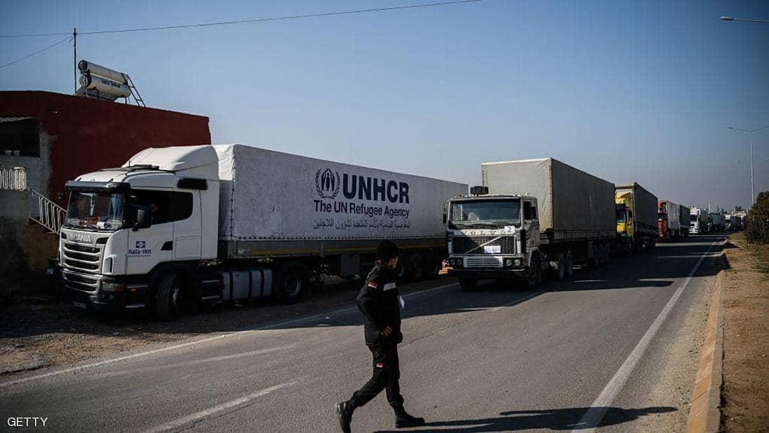 عرقلة تمديد إيصال المساعدات إلى سوريا