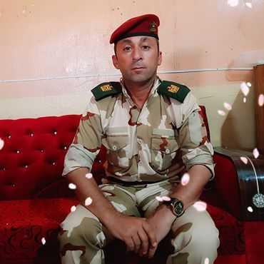 مقتل الرائد اياد نجم الصميدعي امر سرية بهجوم داعش الارهابي في ديالى