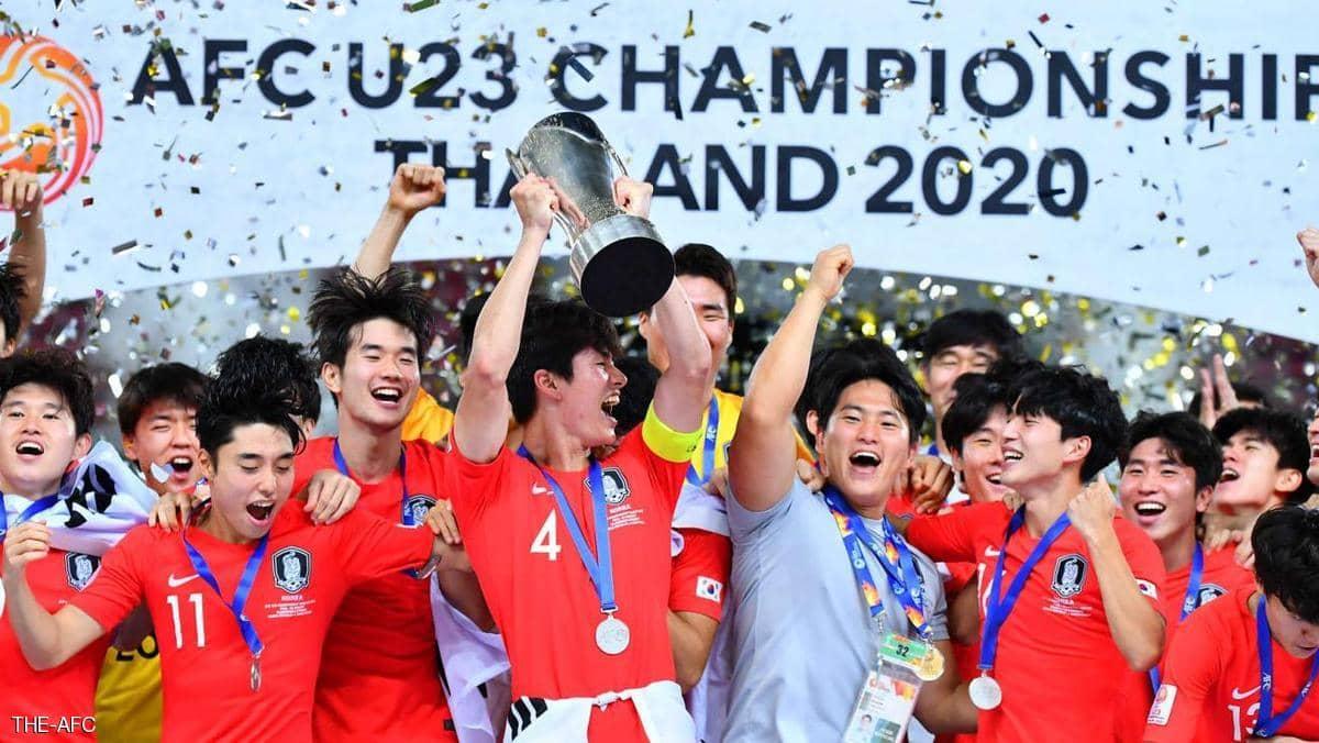 الجنوبية تحرز كأس آسيا تحت 23 عاما