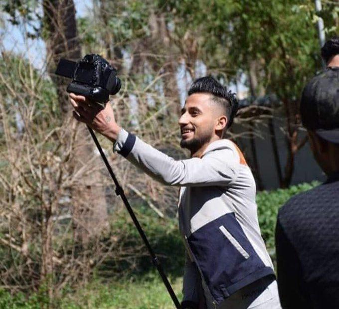 مقتل المصور الصحفي يوسف ستار برصاص الجيش العراقي الباسل في منطقة ساحة قرطبة في قلب بغداد