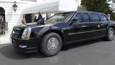 Photo of مشاركة ترامب بسباق السيارات بسيارة كاديلاك