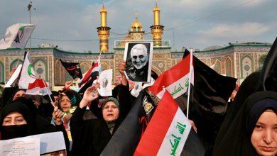 Photo of البنتاغون ينشر صور عراقيات يرفعن صور سليماني وهن يبكين
