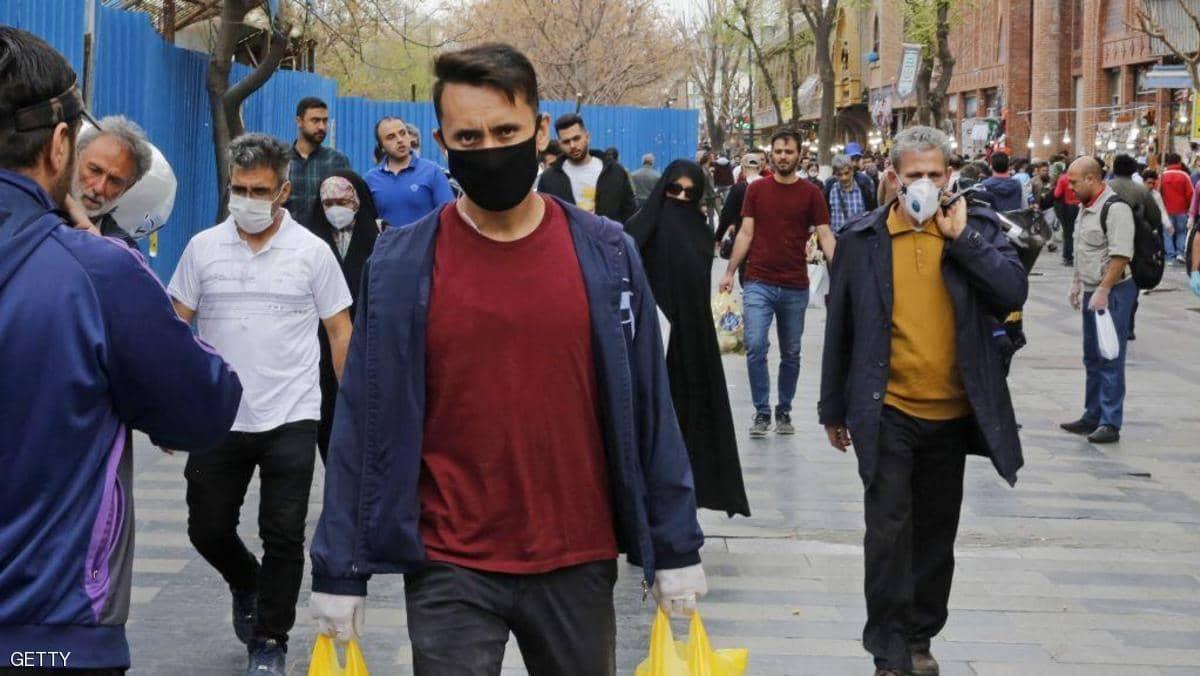 حظر التنقل بين المدن بسبب المرض بايران