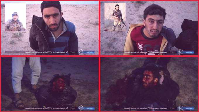 داعش الارهابي يسيطر على الطابق الارضي من سجن الحسكة السورية
