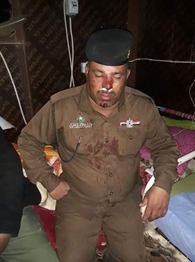 اعتداء شرطي المسيب بسبب الكورونا ومصرع منتسب امني دهس في المثنى
