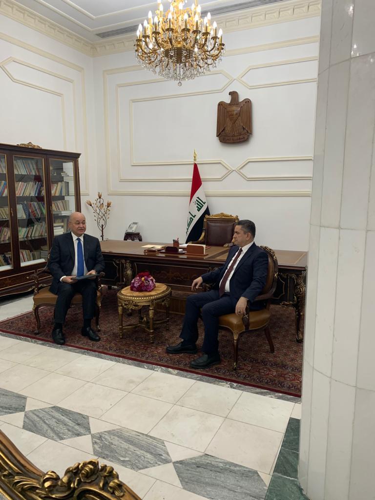 صالح يكلف الزرفي عضو حزب الدعوة الذي اتهم مقتدى الصدر بانه خارج القانون بتشكيل الحكومة