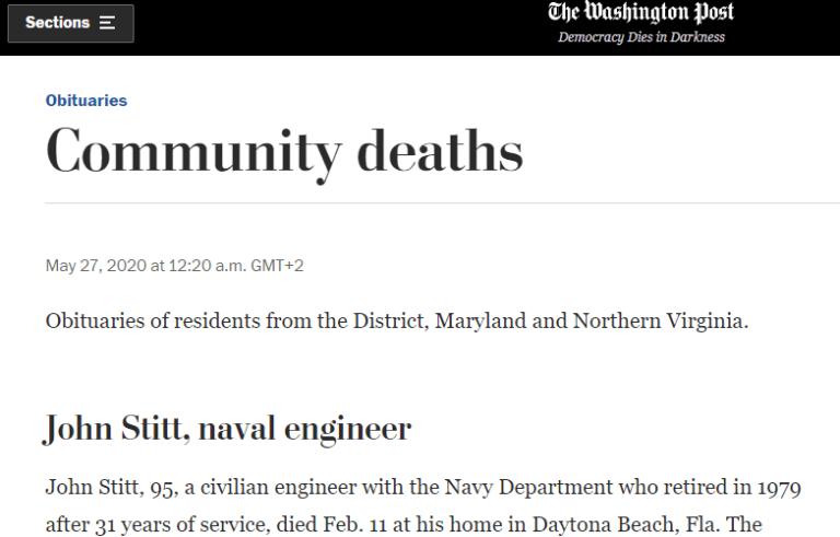 صحيفة تنشر خبر موت المدعي العام الامريكي في العراق