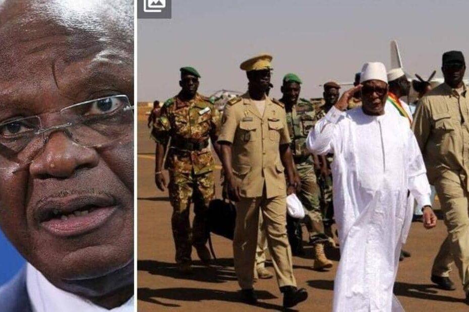 """شريف !!""""لا أريد دماء"""".. رئيس مالي يستقيل بعد """"الانقلاب"""" بساعات"""