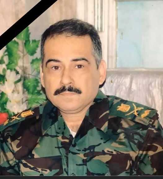 وفاة السني اللواء ابراهيم شكر العبيدي مدير الدفاع الجوي