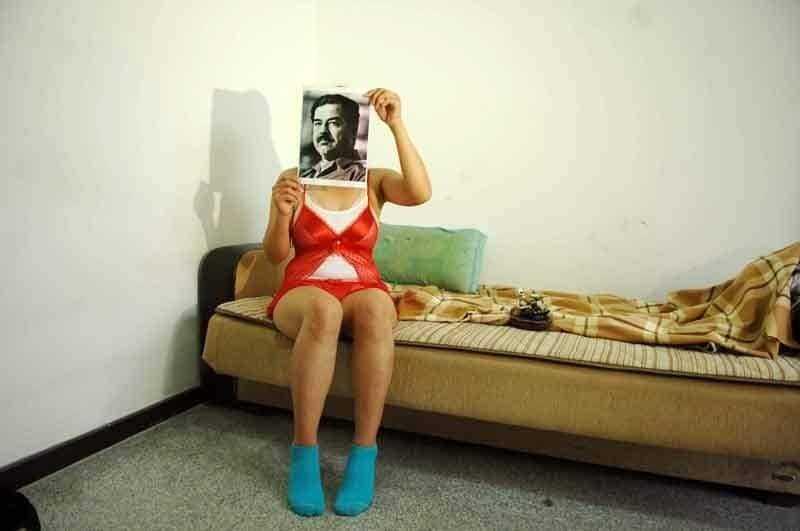 عود ليش مصور الكاظمي ملهم بصور صدام مجلس النواب مع التحية