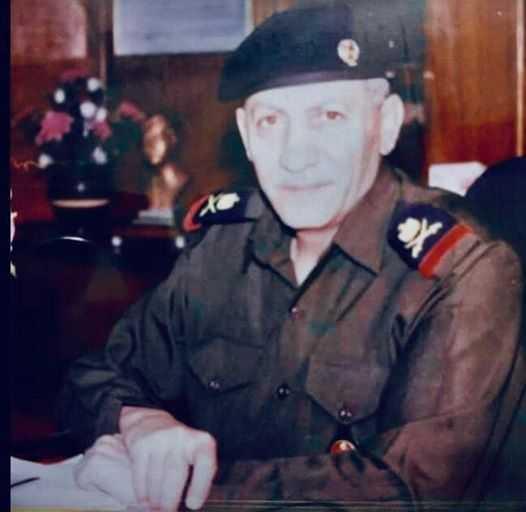 وفاة الضفدع البشري الفريق الركن مؤيد عبد الغفور الالوسي الحديثي مدير عام الموانيء العراقية قبل غزو العراق في 9/4/2004