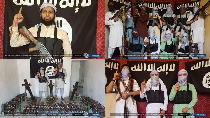 سيد ابن رسول الله وقائد للشرطة يتأكد من سلامة سجن الحوت بعد هجوم داعش على سجن افغاني واطلاق 400 سجين