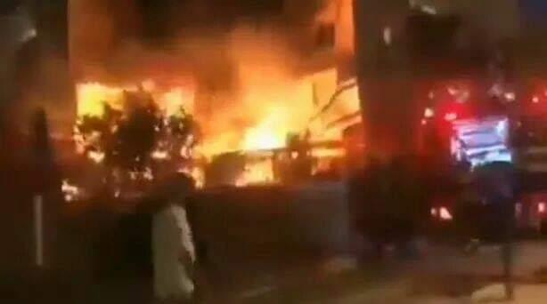 انفجار داخل مبنى من 8 طوابق فى إيلات بإسرائيل