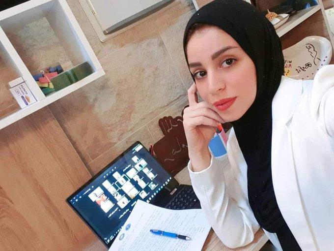 """اعدام """"ريهام يعقوب"""" الدكتورة في مجال التغذية والناشطة المدنية مع صديقتها بنيران مليشيا البصرة."""