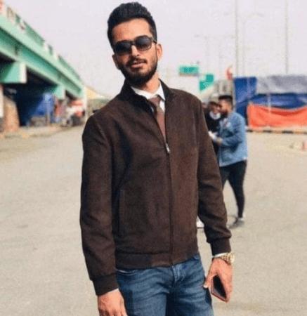 اللحظات الأولى لإطلاق قذيفة 'آر بي جي' على منزل الناشط رضا العقيلي