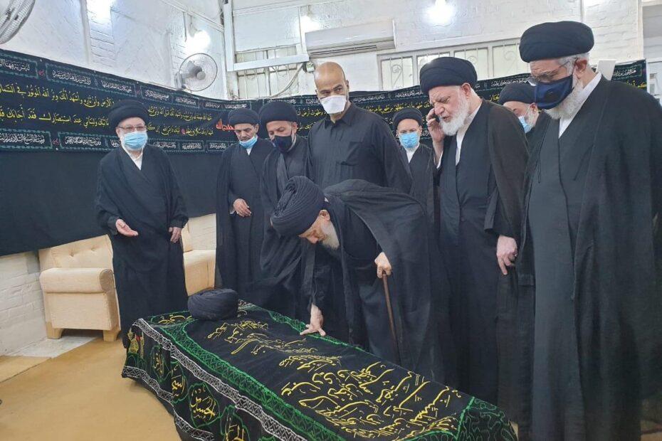 رفض الحكيم الصلاة على جنازة عمه وسيد يتصل بالموبايل فوق الجثة