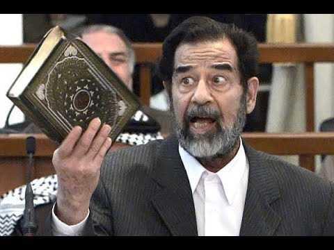 على كل عراقي ان يقرأ هذا الخبر ليعلم لماذا اعدموا صدام ؟