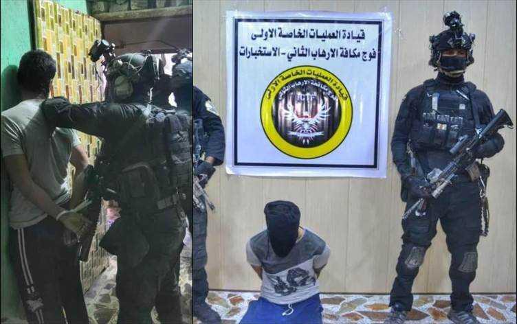 بعد سخرية داعش الارهابي من الحلبوسي اعتقال ابو اسلام وابو غفران وابو البايسكل بالفلوجة