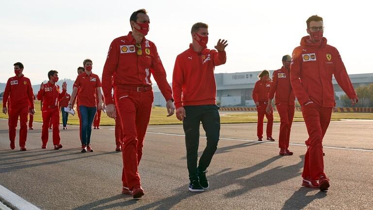 الضباب يخيم على بطولة نجل شوماخر في فورمولا 1