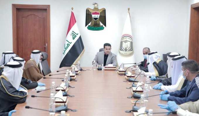 مع اجتماع الاعرجي من شيوخها ... مقتل عناصر من لواء ائمة البقيع الحشد الشعبي في المقدادية