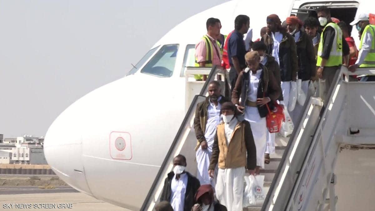 وصول الدفعة الأخيرة من أسرى الحكومة اليمنية