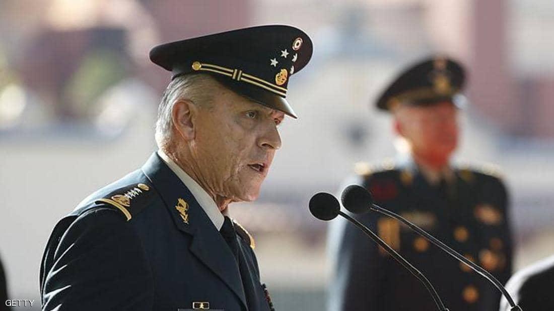 الولايات المتحدة تعتقل وزير الدفاع المكسيكي 72 عاما