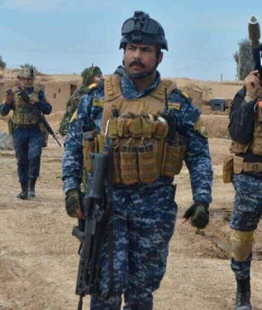 داعش الارهابي يقتل الشيعي ابن مشتت امر الفوج الاول اللواء الثاني في كركوك