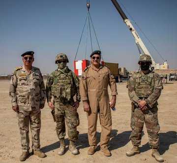بعده بالصندوق ونشروا صوره!البنتاغون يعلن تجهيز العراق بمراقبة للحركات الجوية في قاعدة عين الاسد (القادسية)