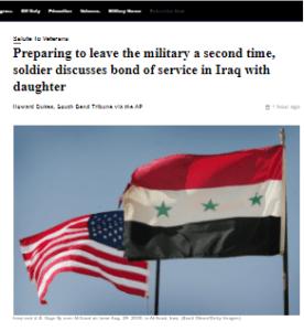 حوار بين امريكي بالاستخبارات ومديرة ادارة بالجيش الامريكي بالعراق