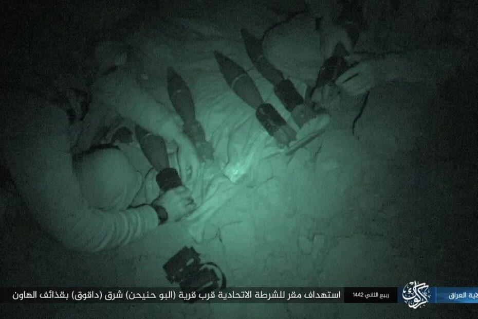 داعش الارهابي يشن هجوما على شرطة كركوك ويقتل خمسة