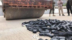 هل يصح هذا انها اسلحة والعراق بحاجة لها وليست لعب اطفال ياكردستان!!؟