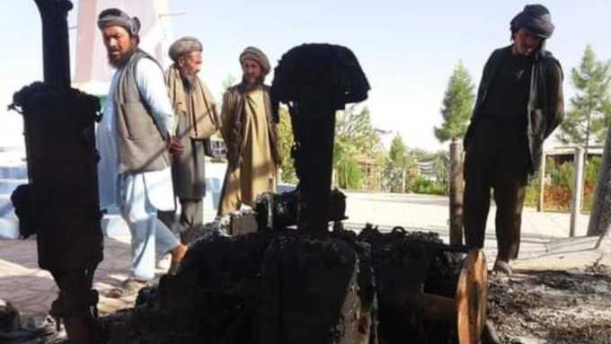 هجوم انتحاري ضد شرطة افغانستان