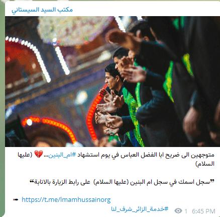 السيستاني يفتح سجلا على محرك كوكل الامريكي لزيارة ام العباس بن علي