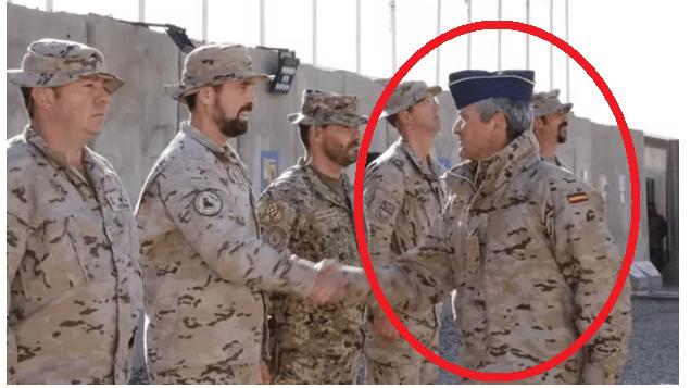 استقالة رئيس اركان الجيش الاسباني الذي زار العراق