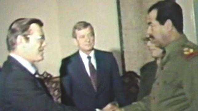 أمريكا تفرج عن مخاطبات المجرم رامسفيلد الذي سلمه الاشيقر سيف الامام علي ويسمي صدام بالدجال