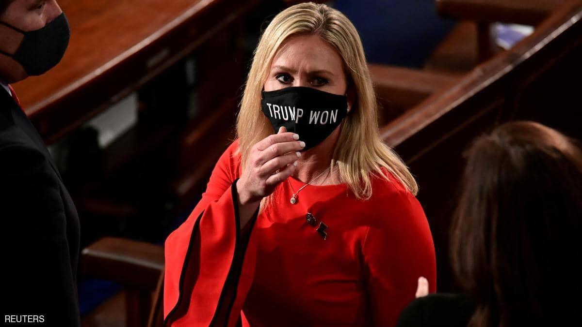 """تصويت مرتقب من النواب الامريكي على """"طرد نائبة المؤامرات"""""""