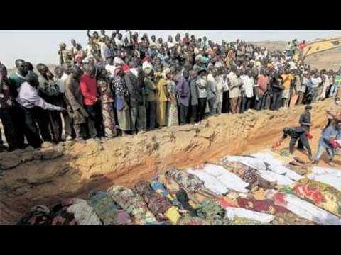 داعش الارهابي يقتل ويصيب 56 نيجريا ويحرق 17 سيارة عسكرية