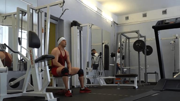 رياضي روسي يدخل موسوعة غينيس للأرقام القياسية