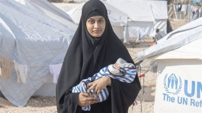 المحكمة البريطانية العليا ترفض عودة شميما بيغوم زوجة ارهابي الى البلاد