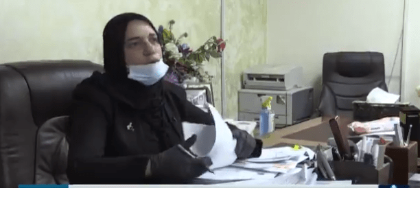 ابنة الناصرية والماجدة العراقية طيف سامي تنفي الاساءة للحلبوسي وعبد المهدي
