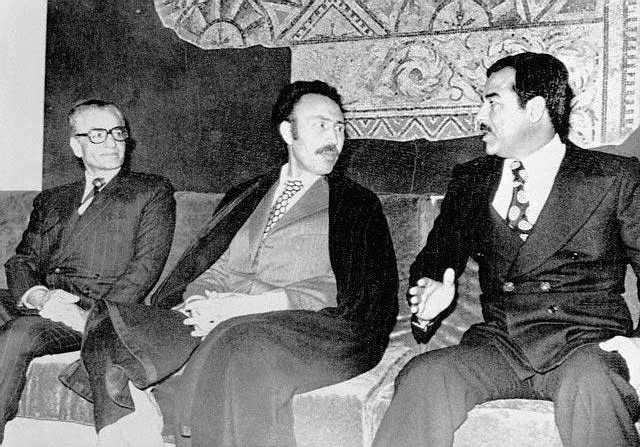 اليوم يستذكر العراقيون اتفاقية الجزائر