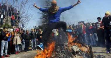 مقتل واصابة 1003 ايرانيا بحريق عيد النار